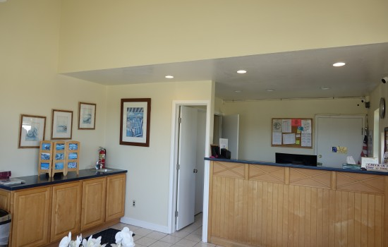 Welcome To The Sand Dollar Inn - Front Desk